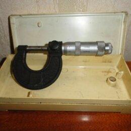 Измерительные инструменты и приборы - Микрометр советский от 0 до 25 мм устройства, 0