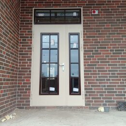 Входные двери - Наружные входные стеклянные двери, 0