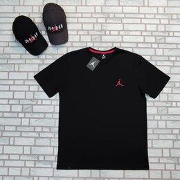 Футболки и майки - Черная футболка jordan 46-54, 0