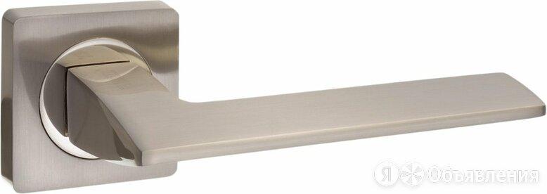 Дверная ручка Vantage V54DAL на квадратной розетке матовый никель по цене 589₽ - Ручки дверные, фото 0