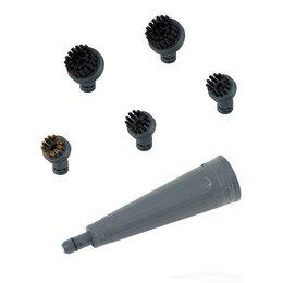 Пароочистители - Набор сменных аксессуаров для пароочистителя Kitfort KT-900-05, 0