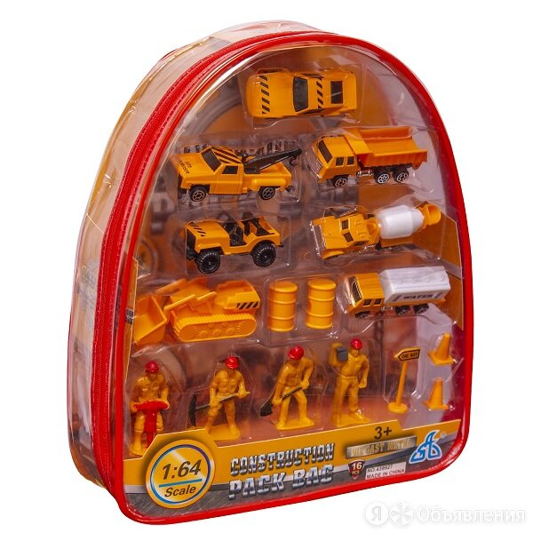 """Handers игровой набор """"строительная бригада"""", 16 предметов по цене 799₽ - Машинки и техника, фото 0"""