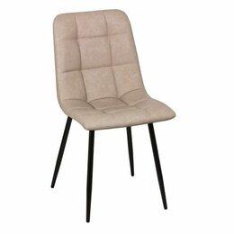 Кухонные гарнитуры - Обеденный стул CHILI велюр микрофибра экокожа  WX-210, 0