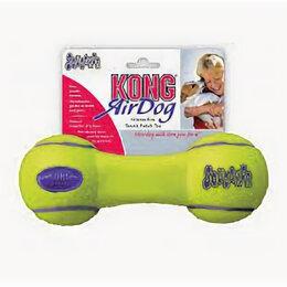 Аксессуары для амуниции и дрессировки  - KONG игрушка для собак AIR Гантель малая 13 см , 0
