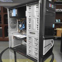 Настольные компьютеры - Игровой ПК 4 ядра/6Gb/SSD диск/видео GeForce 2Gb, 0