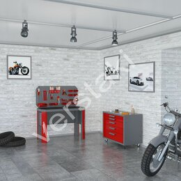 Мебель для учреждений - Комплект мебели Гефест-НМ-04, 0