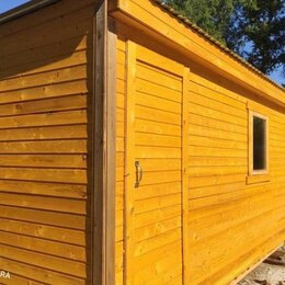 Готовые строения - Бытовка деревянная дачная 4 МЕТРОВАЯ , 0