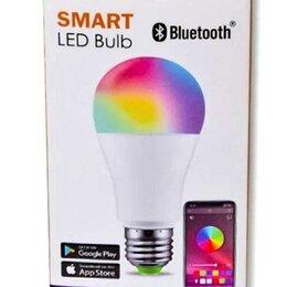 Интерьерная подсветка - Умная светодиодная лампа E27 RGB 15В, 0