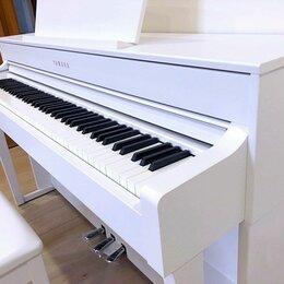 Клавишные инструменты - Yamaha CLP-745 WH Пианино Новое, 0
