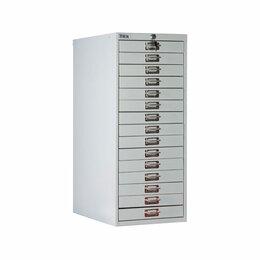 Шкафы для документов - Многоящичный шкаф ПРАКТИК MDC-A3-910-15, 0