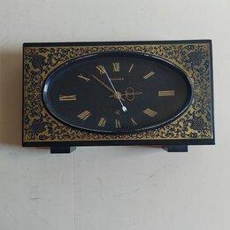 Часы настольные и каминные - Настольные  часы янтарь ссср, 0