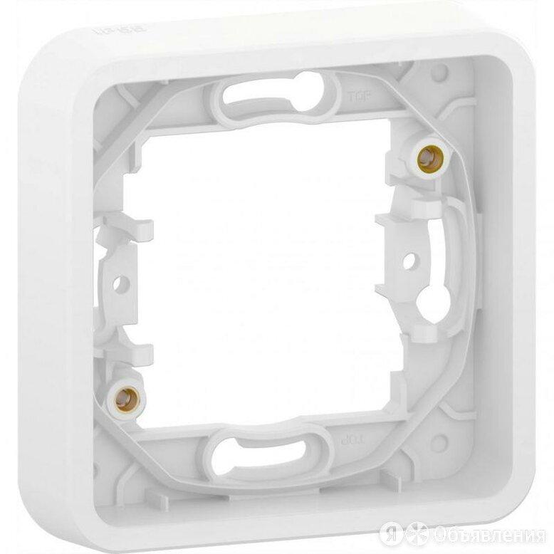Рамка одноместная универсальная без винтов белая IP55 MUREVA STYL Schneider E... по цене 488₽ - Электроустановочные изделия, фото 0