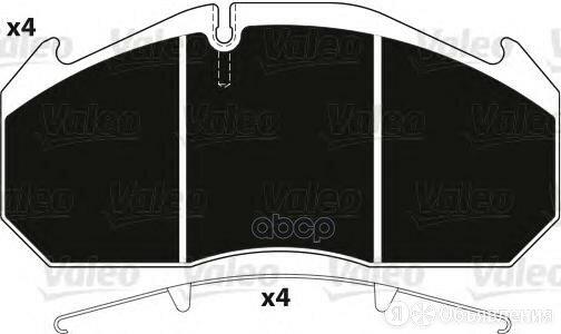 Колодки Тормозные Renault Man Передние/Задние (250х118х28мм) (4шт.) Valeo Val... по цене 8750₽ - Тормозная система , фото 0