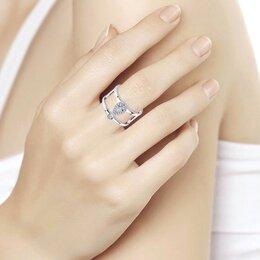 Кольца и перстни - Новое серебряное кольцо Sokolov 18.5 размер, 0