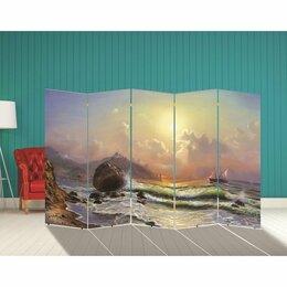 """Ширмы - Ширма """"Корабли. Декор 18"""" 250 × 160 см, 0"""