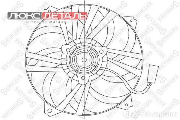 STELLOX 2999278SX 29-99278-SX_вентилятор охлаждения\ Citroen Xsara 1.4-2.0 97... по цене 3152₽ - Отопление и кондиционирование , фото 0