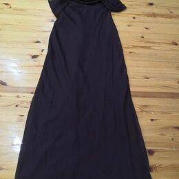 Платья - Платье вечернее, праздничное темносереневое или темнолиловое 44-46р., 0