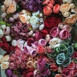 Искусственные растения - Искусственные цветы пионы большие, 0