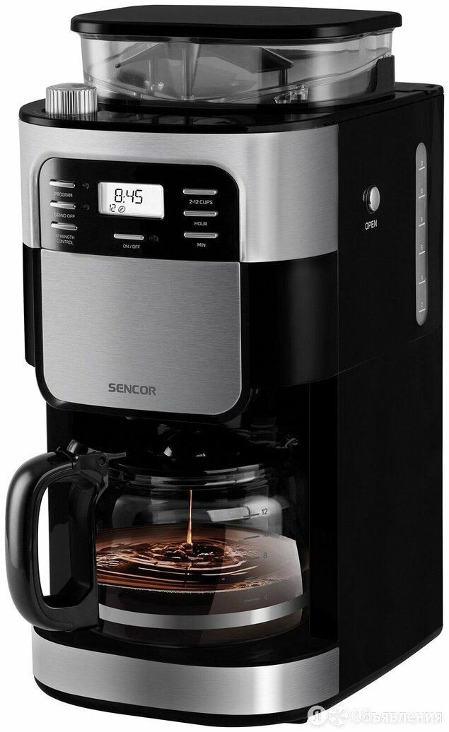 Кофеварка Sencor SCE 7000BK по цене 10450₽ - Кофеварки и кофемашины, фото 0