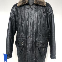 Куртки - Куртка мужская натур.кожа подкладка овчина р.54 /10703/, 0