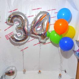 Воздушные шары - Фольгированные цифры и воздушные шары, 0
