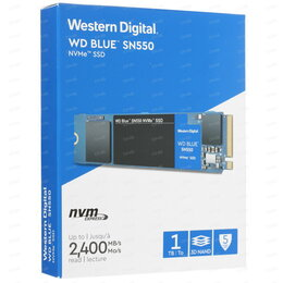 Жёсткие диски и SSD - Новый WD Blue SN550 (WDS100T2B0C) 1000 гб SSD M.2, 0