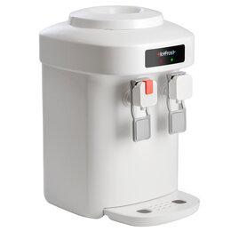 Кулеры для воды и питьевые фонтанчики - HotFrost Кулер для воды HotFrost настольный, нагрев/охлаждение электрон., белый, 0
