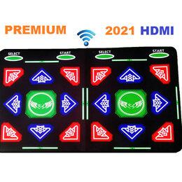 Развивающие коврики - Танцевально-игровой коврик для двоих HDMI б/проводной 64 Бит русское/ТV, PC/, 0