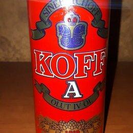 Этикетки, бутылки и пробки - Жестяная пивная банка KOFF, 0