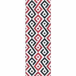 Керамическая плитка - Декор Molle red 01 30х90 (5шт), 0