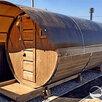 Баня-бочка Лада 2 секции 4 метра Пермь по цене 195500₽ - Готовые строения, фото 0