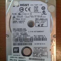 Жёсткие диски и SSD - ноутбучный 320 Гб хорошее состояние, 0