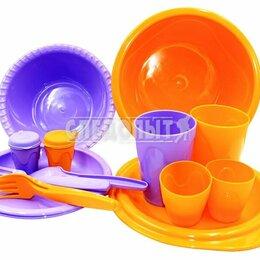 Наборы для пикника - Набор для пикника PF-CWS-PS04  СЛЕДОПЫТ «Holiday» пластик, на 2 персоны, мешочек, 0