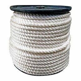 Веревки и шнуры - Веревка полиамидная крученая 16мм Атекс, 0