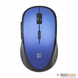 Мыши - Мышь Defender Wireless Aero MM-755 синий, 0