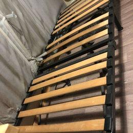 Раскладушки - Раскладушка с матрасом и лагами 80 х 190 см, 0