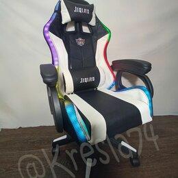 Компьютерные кресла - Геймерское кресло с RGB подсветкой и BlueTooth динамиками, 0