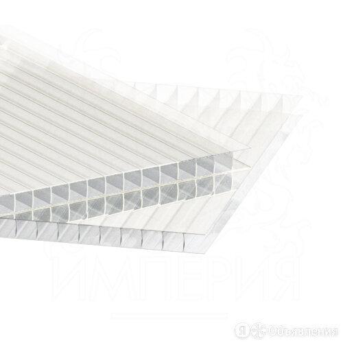 Сотовый поликарбонат BORREX Прозрачный 6 мм (2,1*6 м) по цене 8645₽ - Поликарбонат, фото 0