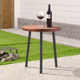 """Столы - Стол деревянный """"Пикник"""", d=45 см, h=50 см, массив сосны, 0"""
