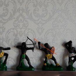 Солдатики - Солдатики африканцы Ссср резиновые , 0