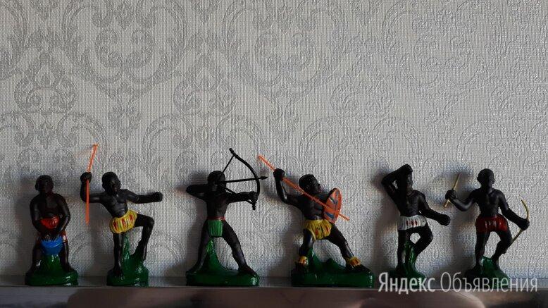 Солдатики африканцы Ссср резиновые  по цене 1800₽ - Солдатики, фото 0