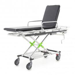 Оборудование и мебель для медучреждений - Каталка больничная YQC-2L (СП-6) с матрасом, 0