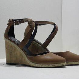 Босоножки - Кожаные туфли босоножки Tommy Hilfiger оригинал 41 разм, 0