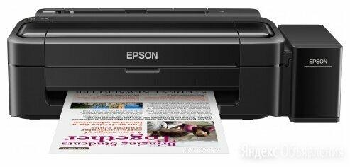 Принтер Epson L132, 4-цветный струйный СНПЧ A4, 27 15 цв стр/мин, 5760x1440 d... по цене 14260₽ - Принтеры, сканеры и МФУ, фото 0