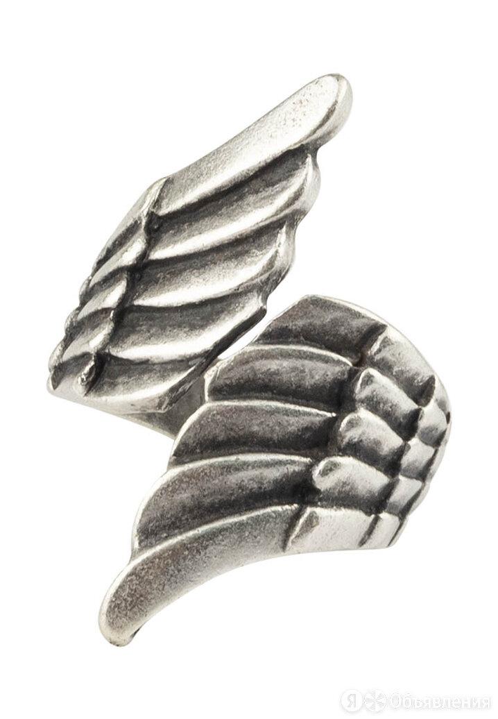 Кольцо бижутерное  Крылья (Безразмерное, Бижутерный сплав, Серебристый) 6-80010 по цене 690₽ - Комплекты, фото 0