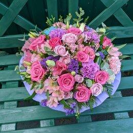 Цветы, букеты, композиции - Коробочка с цветами в Липецке, 0