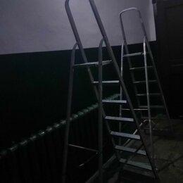 Лестницы и стремянки - Стремянка  7 и 10 ступеней в аренду (центр города), 0
