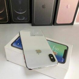 Мобильные телефоны - iPhone X 256 Gb Silver в отличном состоянии, 0