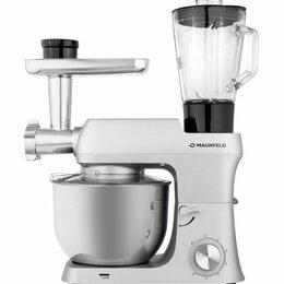 Кухонные комбайны и измельчители - Кухонный комбайн MAUNFELD MF-421S PRO, 0