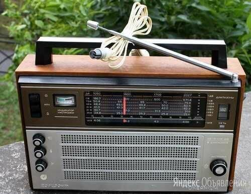 """Легендарный радиоприёмник """"Океан-214"""" (не использовался) по цене 8000₽ - Радиоприемники, фото 0"""